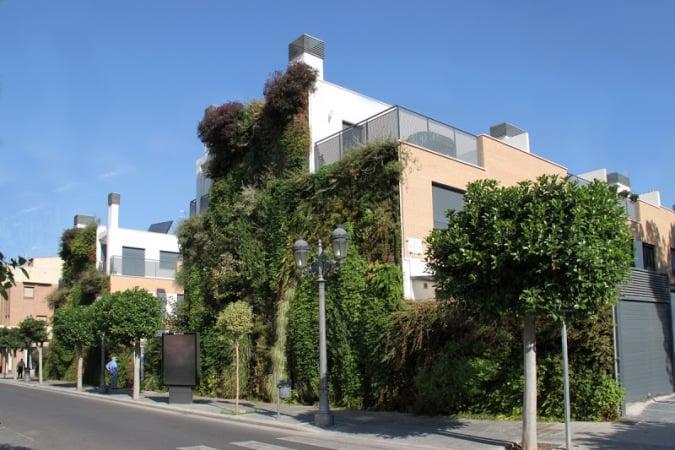 Jardín vertical en Paterna