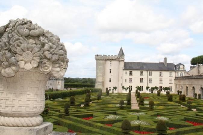 3 castillos de cuento en el Loira