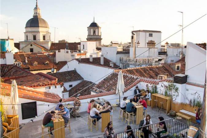 Las Cinco Mejores Terrazas De Hoteles Para Otoño En Madrid