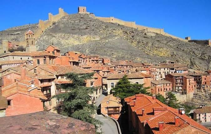 La villa de Albarracín, en Teruel