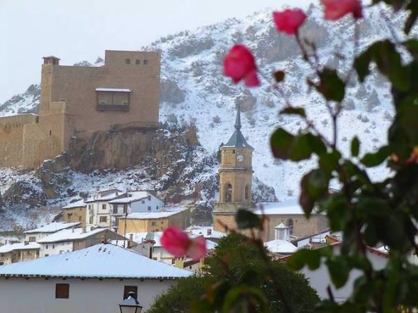 Nevada en Alcalá de la Selva, en Teruel