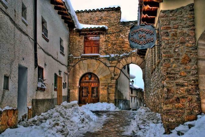 Oficina de Turismo de Alcalá de la Selva, en Teruel