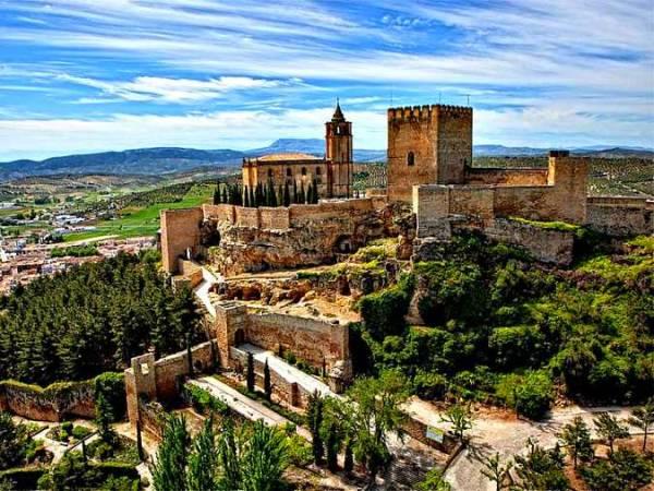 La fotogénica Alcalá la Real, en Jaén