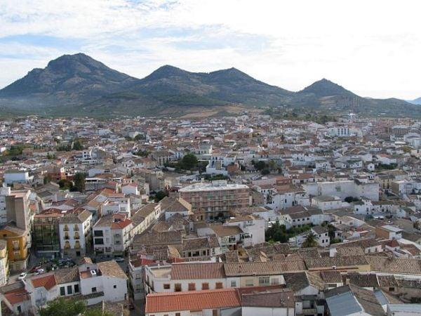 Alcaudete, en Jaén, tierra de olivares