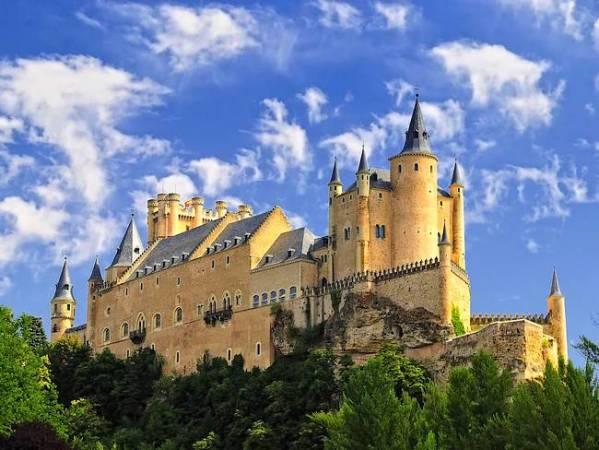 El Alcázar de Segovia, en Castilla y León