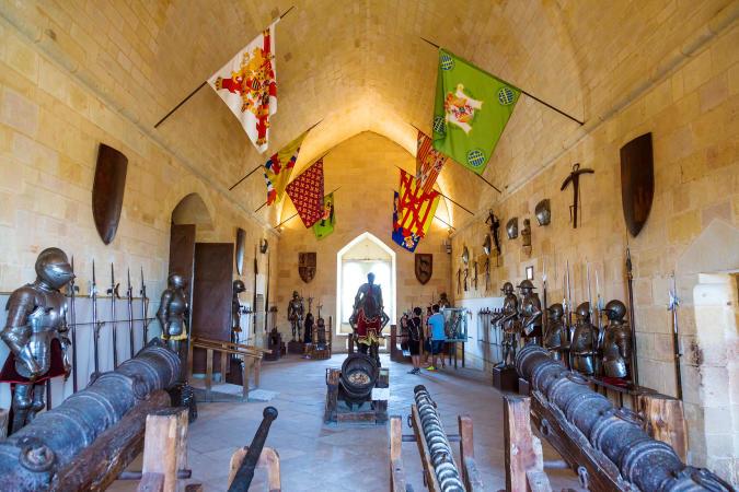 Sala de Reyes, en el interior del Alcázar de Segovia