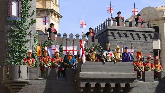 Fiesta de Moros y Cristianos de Alcoy, en Alicante