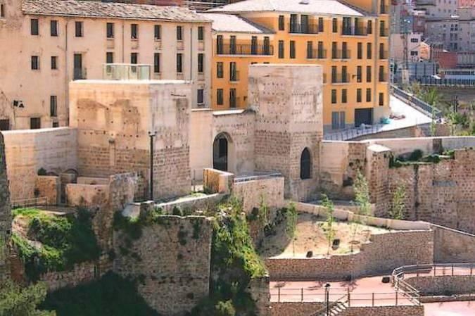 Muralla y torres defensivas de Alcoy, en Alicante