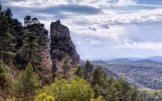 Parque Natural Serra de Mariola, en Alcoy, Alicante