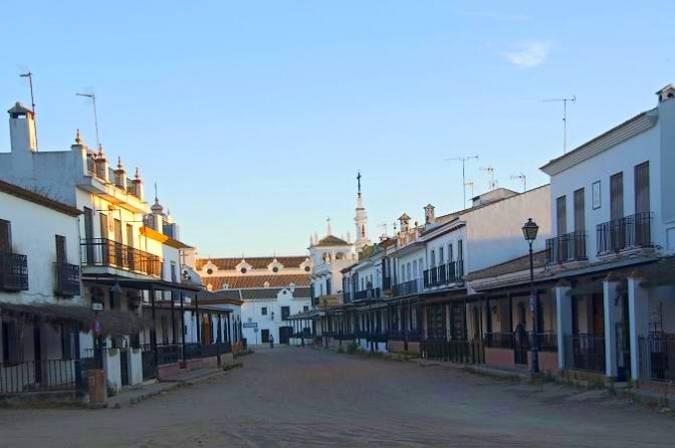 Aldea de El Rocío, en Almonte, Huelva