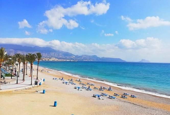 La Playa del Albir, en Alfaz del Pi, Alicante