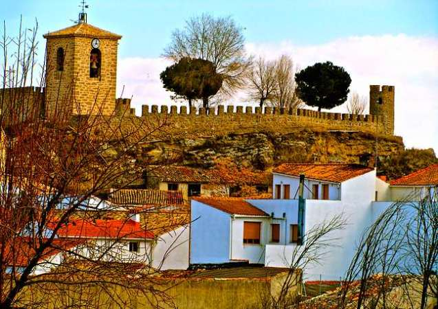 El pueblo alcarreño de Almoguera, en Guadalajara