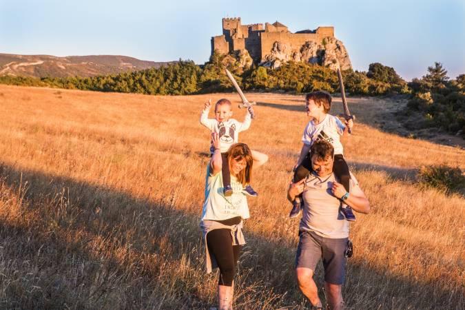 Aragon medieval: Castillos y pueblos