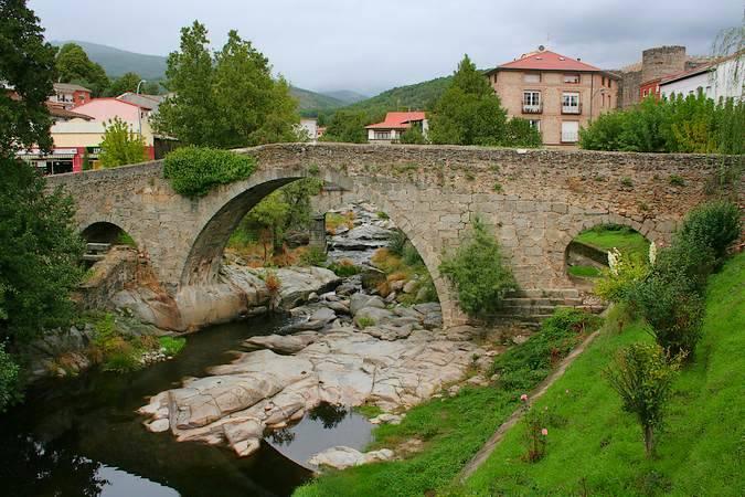 Puente Medieval o de Aquelcabo, en Arenas de San Pedro, Ávila