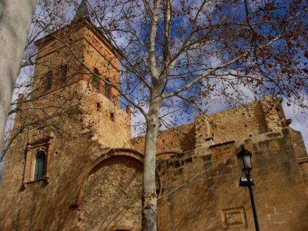 Iglesia de San Juan Bautista, en Argamasilla de Alba