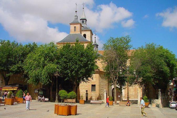 La villa de Arganda del Rey, en Madrid