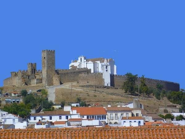 Castillo de Arraiolos, en Portugal