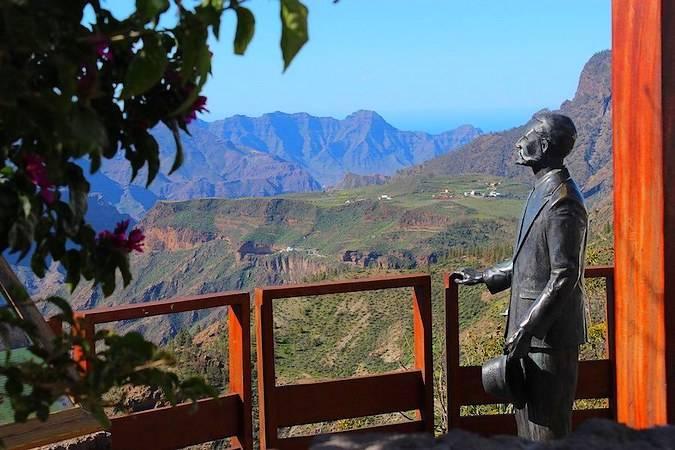 Mirador de Unamuno, en Artenara, Gran Canaria