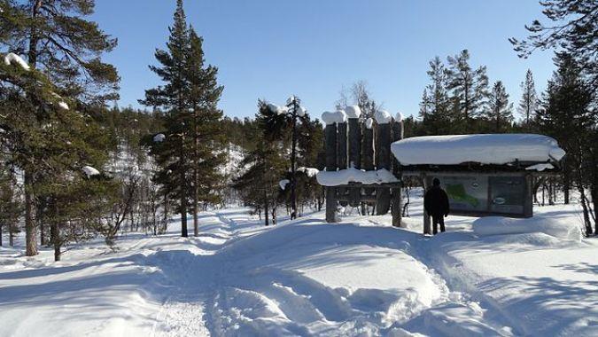 Parque Nacional de Urho Kekkonen, en Saariselka, Finlandia
