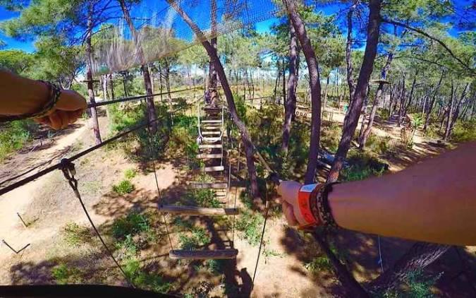 Parque Aventura Amazonia, en Marbella