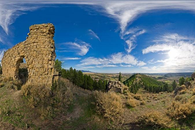 Ayerbe, la villa de Huesca donde vivió Ramón y Cajal