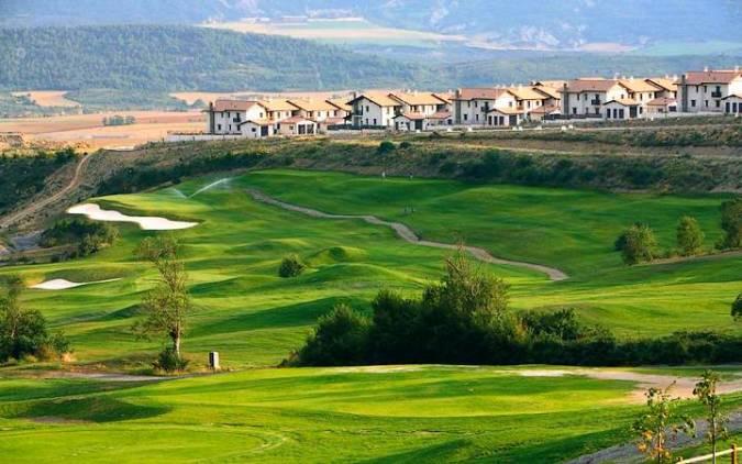 Campo de golf de Badaguás, en Huesca
