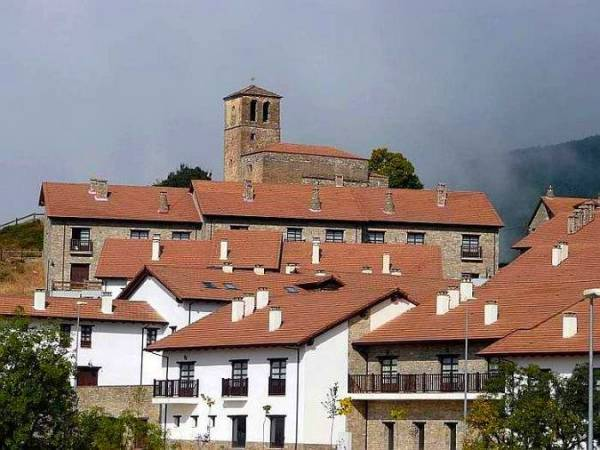 La localida de Badaguás, en Huesca