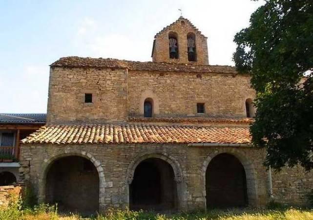 Iglesia de Badaguás, en Huesca