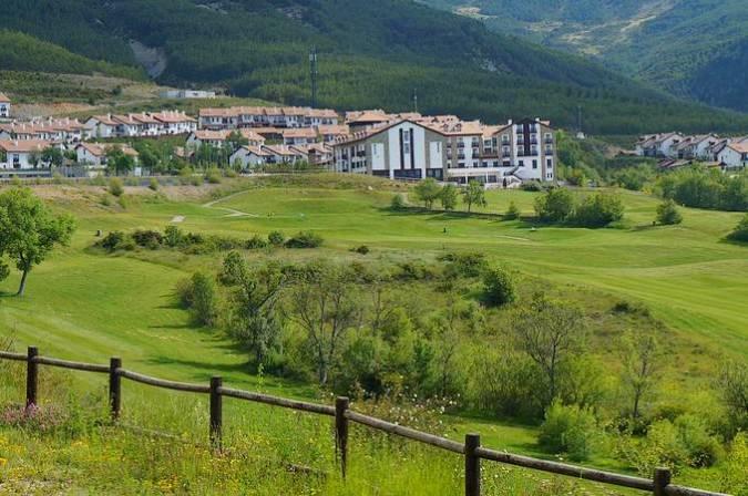 Badaguás, pueblo del municipio de Jaca, en Huesca