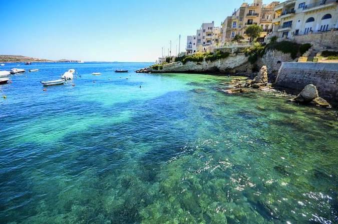 Bahía de San Pablo, un completo destino en la isla de Malta