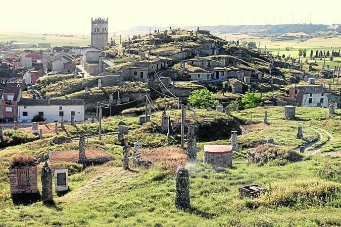 Descubre el mayor conjunto de bodegas subterráneas en Baltanás, en Palencia
