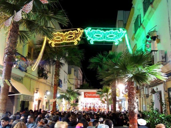 Fiestas de Carvanal en La Viña, Cádiz
