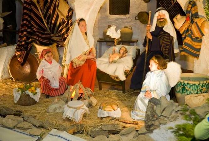 Belén Viviente de Beas, el más antiguo de Andalucía