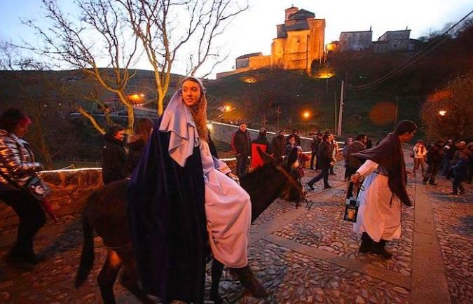 El Belén Viviente de Oncala, en Soria