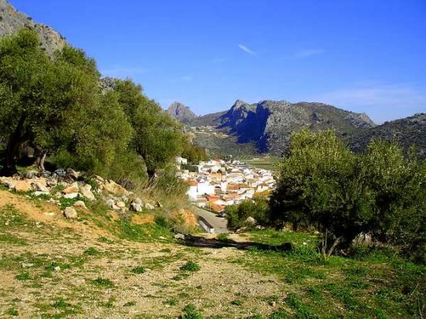 Benaoján, en la malagueña Sierra de Ronda