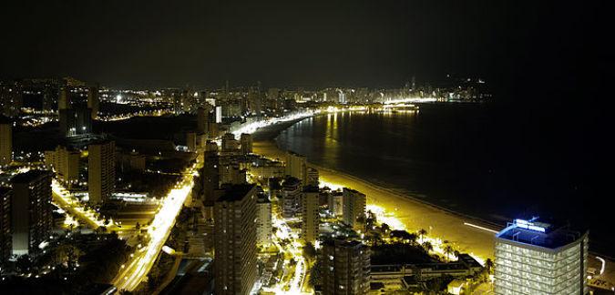 Benidorm, en Alicante, un destino que siempre sorprende