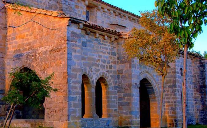 Iglesia de Oteiza de Berrioplano, en Navarra