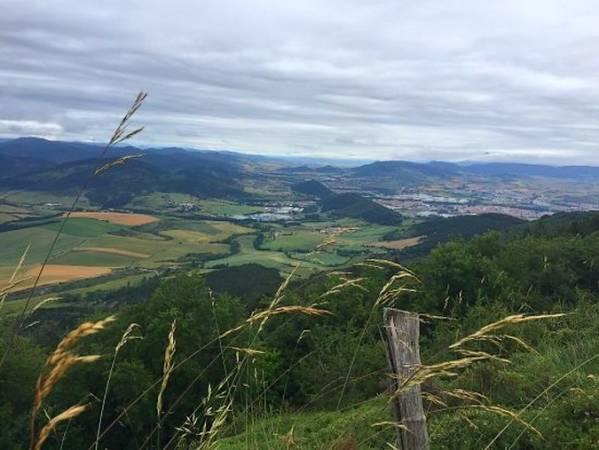 Panorámica de Berrioplano, en Navarra
