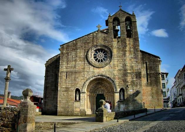 Iglesia de Santa María do Azogue, en Betanzos, A Coruña