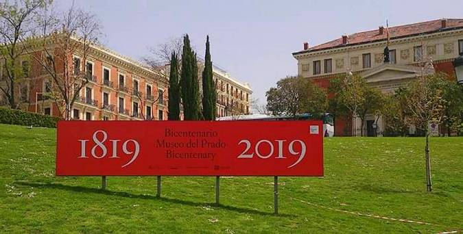 Bicentenario del Museo del Prado,en Madrid