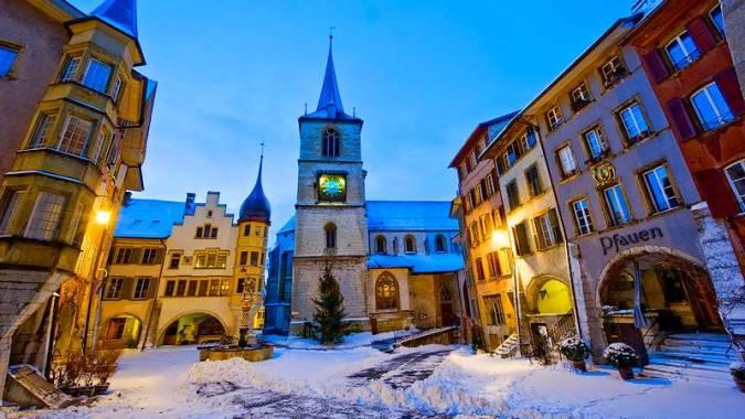 Biel-Bienne, la ciudad de los relojes suizos