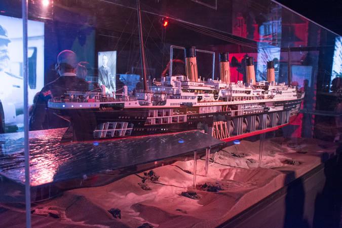 ¡Bienvenidos a bordo del Titanic! En Valencia.
