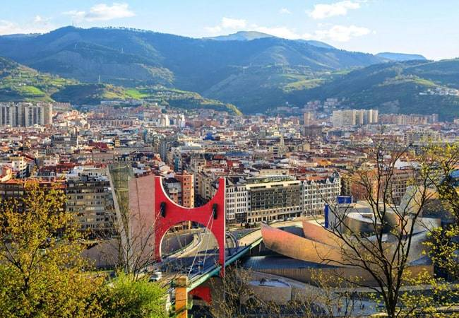 Panorámica de Bilbao