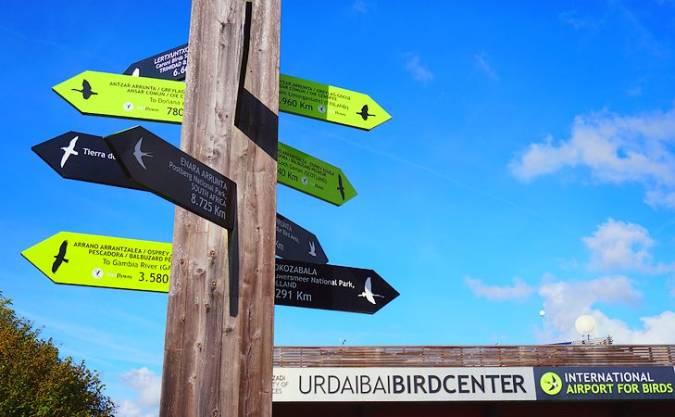 Urdaibai Bird Center, en la Reserva de la Biosfera de Urdaibai