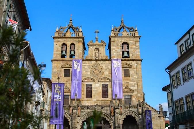 Catedral de Braga, en Portugal