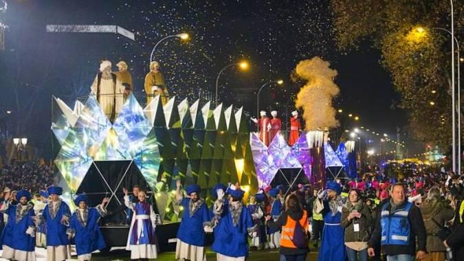 Cabalgata de Reyes de Madrid de 2019