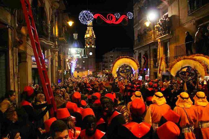 Cabalgata de Reyes de Alcoy, la más antigua de España