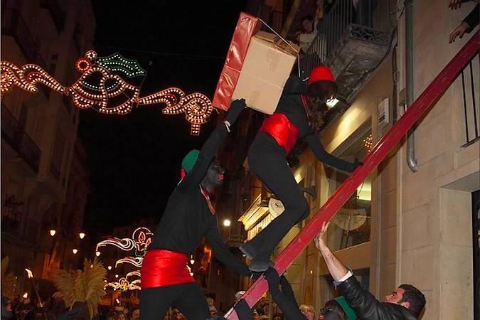 Cabalgata de Reyes de Alcoy, en Alicante