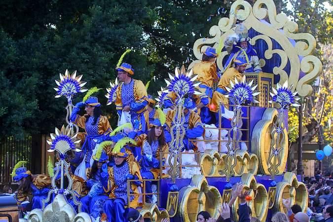 Cabalgata de los Reyes Magos de Sevilla