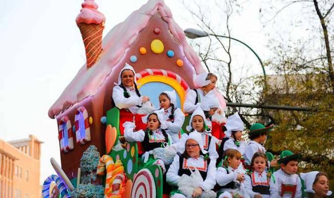 Cabalgata de los Reyes Magos en Sevilla